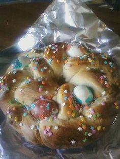 Tsoureki - Greek Easter Bread (Bread Machine Recipe)
