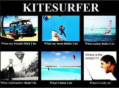 Kitesurfer! #Kitesurfing #kite #kitesurf