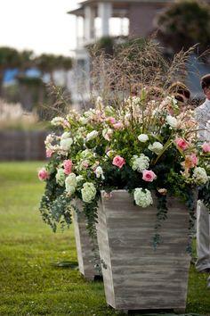 Charleston wedding on Isle of Palms at the Citadel Beach House via Carmen Ash Photography