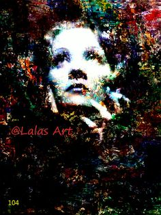 Painting of Marlene Dietrich German Actress 1920s by LalasArtWorld