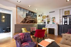 Located 650 ft from the Luxembourg Gardens, the second largest public park in Paris, Hotel Excelsior Latin features front desk and elegant,. Luxembourg Gardens, Exposed Beams, Front Desk, Paris France, Flat Screen, Beautiful Places, Stone Walls, Wi Fi, Cable