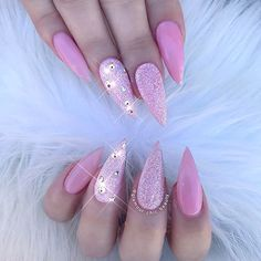 ✨ Dreamy ✨ #glamourchicbeauty #glamourchic #gcnails #goldcoastnails #pinknails #glitternails #swarovskinails #prettynails #nailart #nailartclub #nailartoohlala #nailsonpoint #girlynails #sharpnails #nailsoftheday #nailsofinstagram #nailswag #nailsmagazine #nailprodigy #nailpro #nailporn #nailpromag #nailedit #nailit #nailitmag #nailfashion #swan_nails #thenaillife_ #hudabeauty #vegas_nay