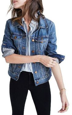 Women's Madewell Cotton Denim Jacket