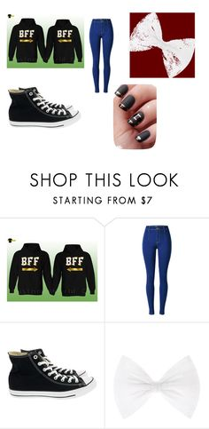 """Best Friends!!!"" by happiness2016 on Polyvore featuring Converse, StreetStyle, love and Lit"
