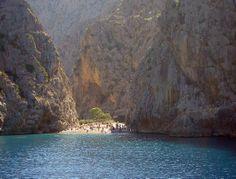 Sa Calobra - Barcos Azules