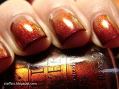 Fall nails...I want this color!
