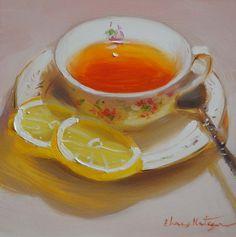Delicate Lemon - Paintings by Elena Katsyura: January 2013