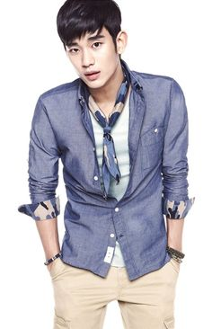 Kim Soo  Hyun 2013 | Kim Soo Hyun Clean Dandy Style for ZIOZIA 2013 S/S Collection [PHOTOS ...