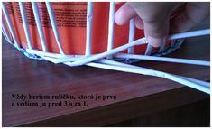 Opletok štyrmi (schovanie dna) :: Moje papierové šialenstvo Paper Basket Weaving, Paper Art, Hampers, Paper Envelopes, Tutorials