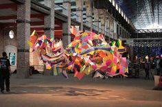 Instalaciones Artísticas en un Centro Comercial - Marcelo Jácome