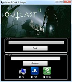 Welcome ! Is time for me to show you Outlast 2 Serial Key Generator, a new very usefull key generator that can simply generate key for Outlast 2 game