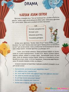 pre-event, pre-art activities, pages, activity, art Drama Activities, Pool Activities, Drama Games, Preschool Activities, Values Education, Learn Turkish, Psychology Facts, Snake Print, Oral Motor