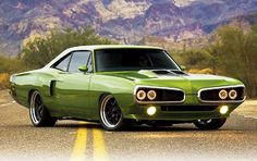 '69 Dodge Super Bee Resto-Mod by 1GrandPooBah, via Flickr
