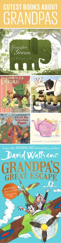 Need a Father's Day gift for grandpa? He won't be able to resist these sweet books about the special bond between kids and their grandparents.