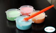 Bubble bath paint