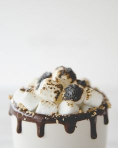 THE S'MORES LATTE // The Kitchy Kitchen