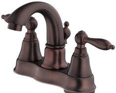 Fairmont Double Handle Centerset Bathroom Faucet