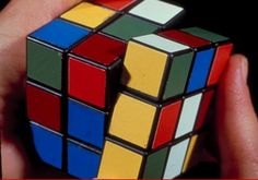 I was only able to get one face of this cube. It took me for ever. It became a paper-waite and not played with.