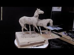 Sculpting with Lemon - Approaching Storm - Adding A Second Horse