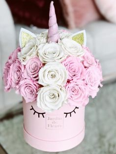 Diy Crafts For Home Decor, Crafts For Kids, Cute Baking, Party Giveaways, Flower Landscape, Luxury Flowers, Flower Bomb, Card Box Wedding, Unicorn Party