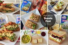 reteta de senvis Sandwiches, Muffin, Tacos, Brunch, Mexican, Breakfast Ideas, Ethnic Recipes, Kitchen, Food
