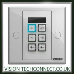 Vision Simple programmable automated AV control system for IR or Projectors, Projector Screens and TVs. Audio Visual Installation, Display Screen, Control System, Simple