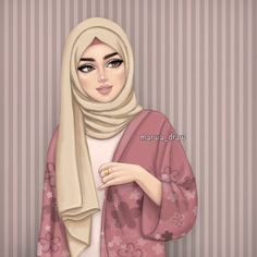 islamic girl cartoon & islamic girl _ islamic girls dpz _ islamic girl photography _ islamic girls name with meaning _ islamic girls dpz hijab fashion _ islamic girls dpz hidden face _ islamic girl cartoon _ islamic girl quotes Girly M, Hijabi Girl, Girl Hijab, Sarra Art, Hijab Drawing, Lovely Girl Image, Hijab Cartoon, Cute Girl Drawing, Beautiful Girl Drawing