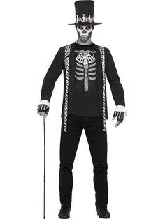 Disfraz de señor de la muerte hombre Halloween: Este disfraz de señor de la…