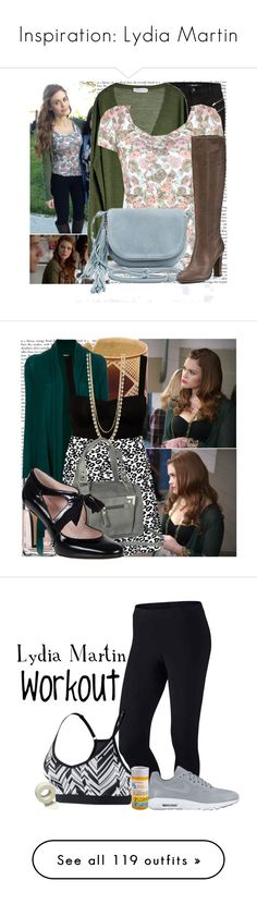 """""""Inspiration: Lydia Martin"""" by labellavita-15 ❤ liked on Polyvore featuring Frenchi, Episode, J Brand, MÃ¥nestrÃ¥le, Kimchi Blue, Magic Bullet, Chanel, The Base Project, DKNY and Rebecca Taylor"""