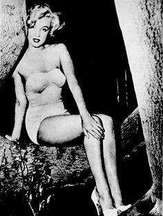 """""""Marilyn in 1951. """""""