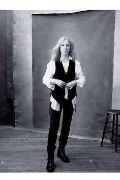 Patti Smith by Annie Leibovitz