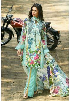 f65d2fceb5 P&J Emporium Latest Eid Collection 2018 Pakistani Lawn Suits, Pakistani  Wedding Dresses,