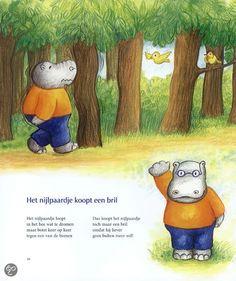 Het nijlpaard met een brilletje - Versje