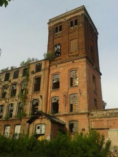 Old building in Lodz, Poland #building
