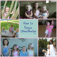 Getting Started with Preschool - How to begin homeschooling series by royallittlelambs.com