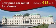 Avail best car rental price deals in Vienna Austria. Best Car Rental Deals, Vienna Austria, Car Ins, All Over The World, Mansions, House Styles, Manor Houses, Villas, Mansion
