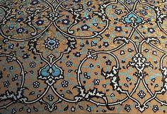 Lotfollah Mosque Dome patterns, Isfahan, Iran.