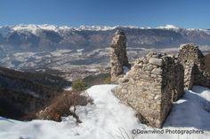 Panorama sulle #dolomiti di Brenta da Castel San Pietro #valdinon