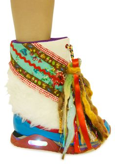 Irregular Choice Blizzard Boots | Dolls Kill, now these would make me smile.....a lot!
