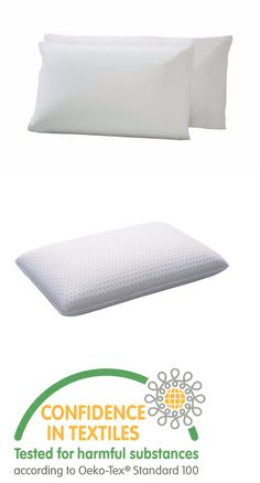 Bed Pillows 20445: Talalay Latex Pillow, 100% Natural - Medium Density - Standard Size (2 Pack) -> BUY IT NOW ONLY: $65 on eBay!
