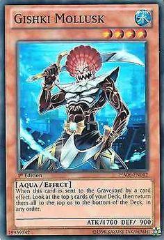 Original KONAMI Yu-Gi-Oh! Trading Card Gishki Mollusk (Gishki-Molluske) Kartennummer: HA06-DE042 Deck: Hidden Arsenal 6 Häufigkeit: Super Rare Kartentyp: Effekt-Monsterkarte Typ: Aqua / Effekt ATK/DEF: 1700/900 GBA: 19959742 | Günstig bei eBay kaufen!