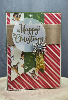 The Stamping Blok: ESAD 2015 Holiday Catalogue Blog Hop - Rochelle Blok #homeforchristmasdsp #stampinup