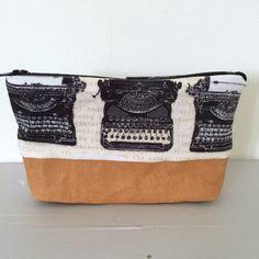 Schwarz und weiß Schreibmaschine Druck und Kraft tex Tasche Geldbeutel oder Tasche