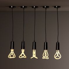 "Interesting shaped ""bulbs""."
