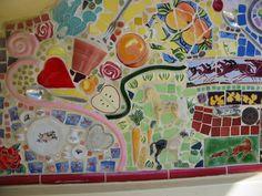 Mosaic wall @ California Adventure