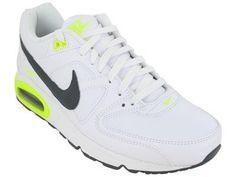 Nike Men's NIKE AIR MAX COMMAND LEATHER RUNNING SHOES 10 Men US (WHITE/DARK GREY/DARK GREY/VOLT) Nike,http://www.amazon.com/dp/B001G77DLA/ref=cm_sw_r_pi_dp_jn3Crb492D484695