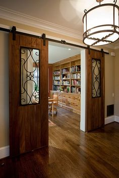 Love the style of this entry to the library. Not my favorite doors, but great look.                                                                                                                                                      More