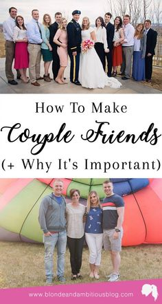 HOW TO MAKE COUPLE FRIENDS | couple friends, how to make friends, adult friends, making friends as a grown up