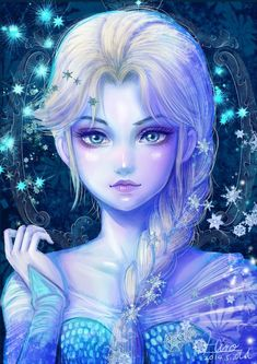 Find the best Elsa Frozen Wallpaper Phone on GetWallpapers. Frozen Disney, Film Disney, Elsa Frozen, Disney Magic, Frozen 2013, Disney Fan Art, Disney Animation, Jack Frost, Long Hair Cartoon