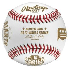 2012 World Series Dueling (Detroit Tigers/San Francisco Giants) Baseball in Cube by Rawlings. $18.99. Official 2012 World Series Dueling Baseball. Packaged and sealed in an official Rawlings cube. San Francisco Giants Logos and Detroit Tigers Logos. This is perfect for your San Francisco Giants or Detroit Tigers fan! Packaged in a cube, official from Rawlings.